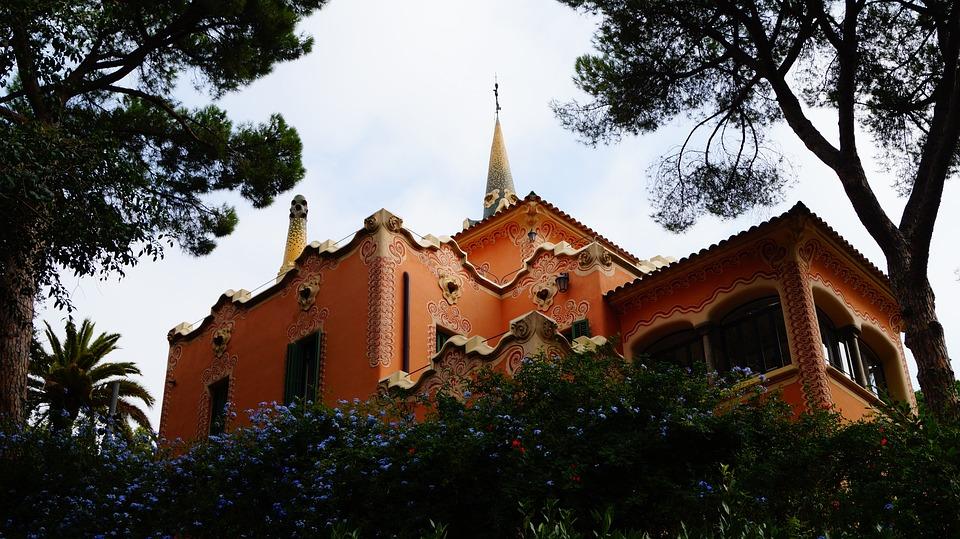 Spain, Park Guell, Barcelona, Antoni Gaudi, Catalonia