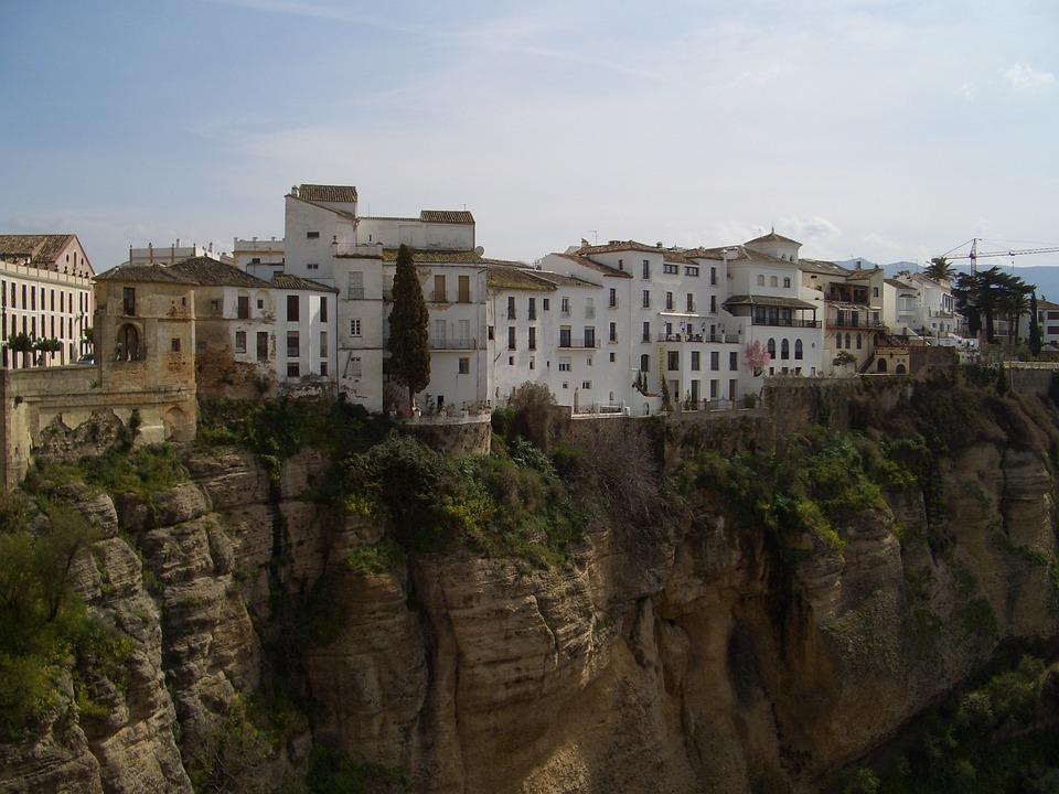 Ronda, Spain, Europe, Town, Old Town, Street