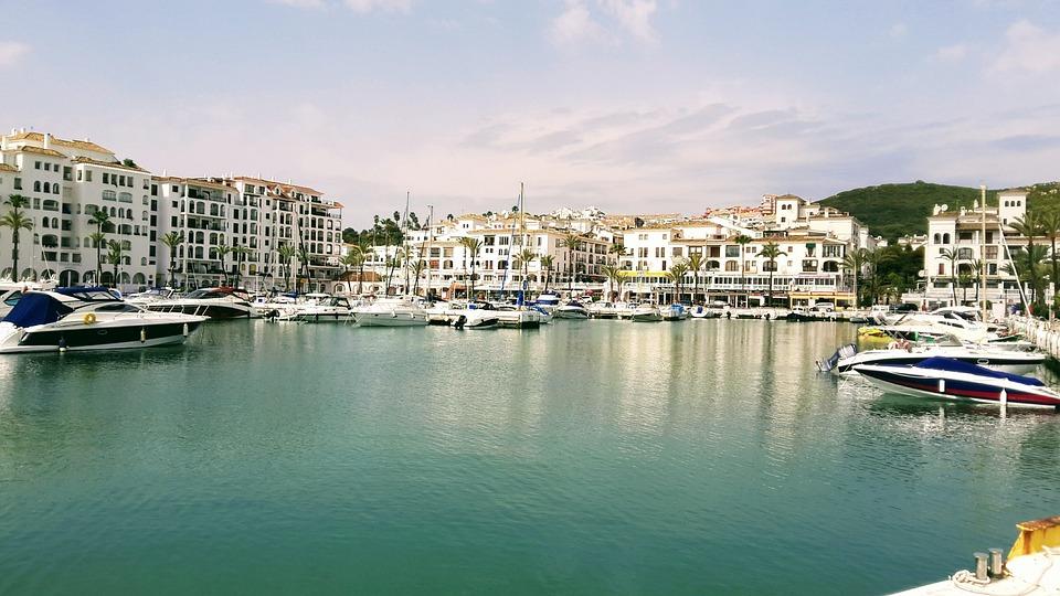 Spain, Harbor, Sea, Mediterranean, Vacation