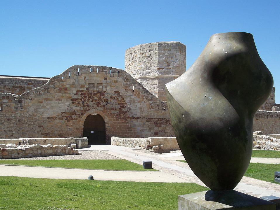 Spain, Zamora, Castilla, Monument, Sculpture