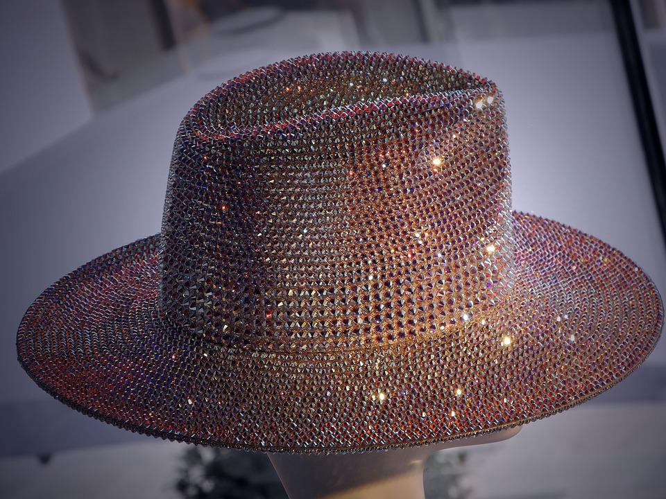Hat, Crystals, Sparkle, Swarovski