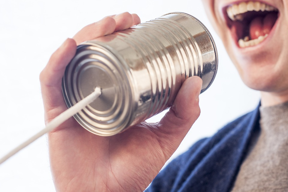 Tin Can, Speak, Talk, Microphone, Can, Tin, Mouth, Say