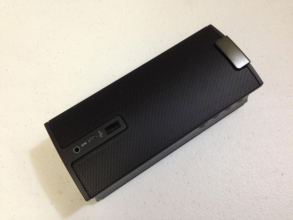 Speaker, Portable, Bluetooth, Technology, Audio, Sound