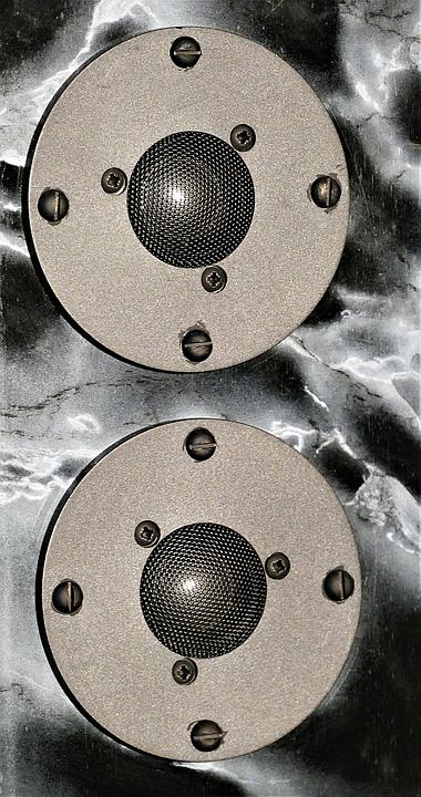 Speakers, Dome Tweeter, Hifi, Stereo, Audio