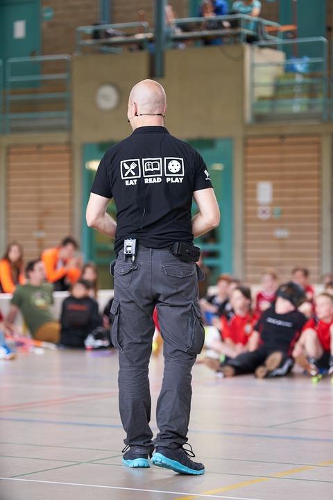 Speakers, Game Head, Organizer, Welcome, Floorball
