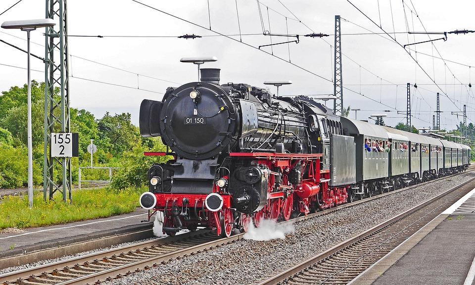 Steam Locomotive, Steam Train, Special Crossing