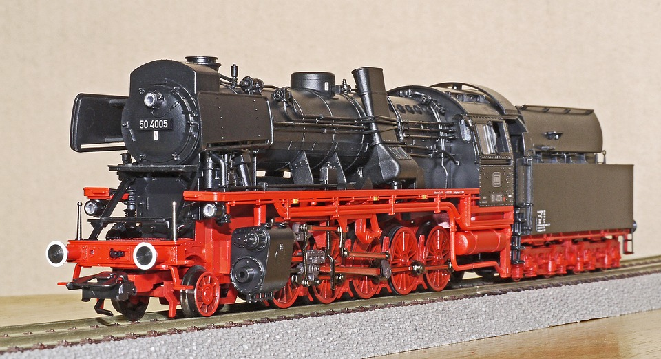 Steam Locomotive, Model, Scale H0, Special Design