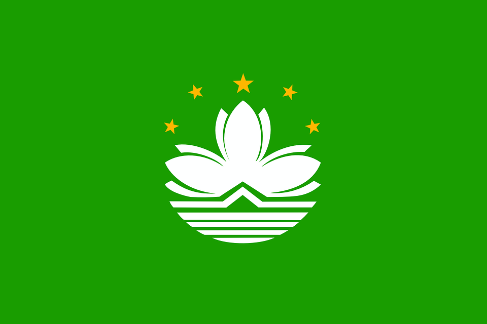 Macao, Macau, Flag, Official, Special, Administrative