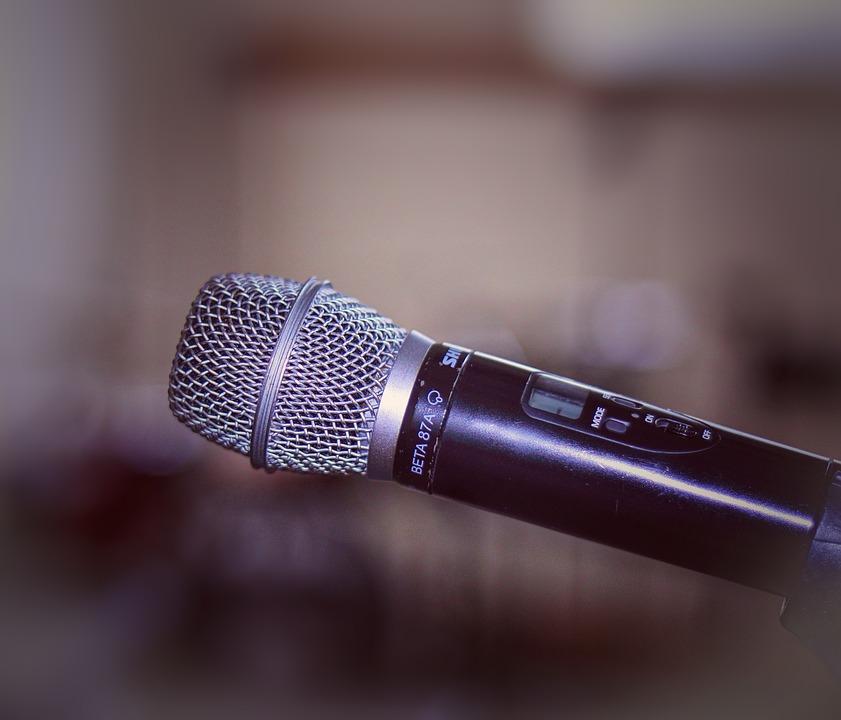 Microphone, Mic, Speech, Media, Technology, Sing, Speak