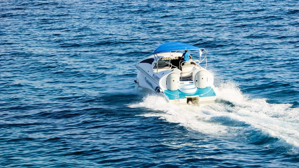 Speed Boat Sea Water Sport Leisure Luxury