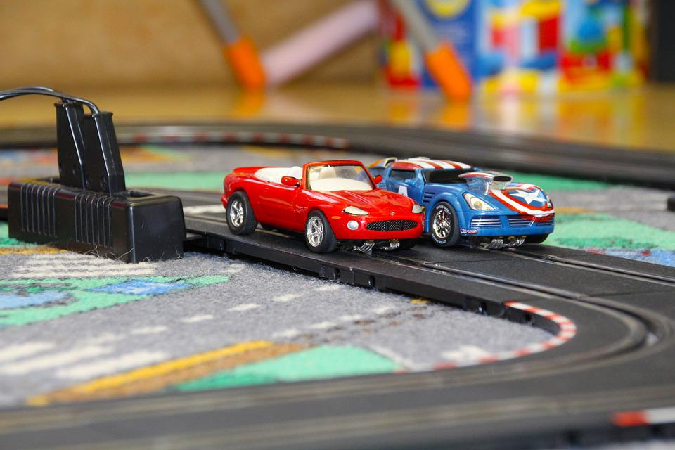 Carrera, Racing Car, Toys, Racecourse, Runway, Speed