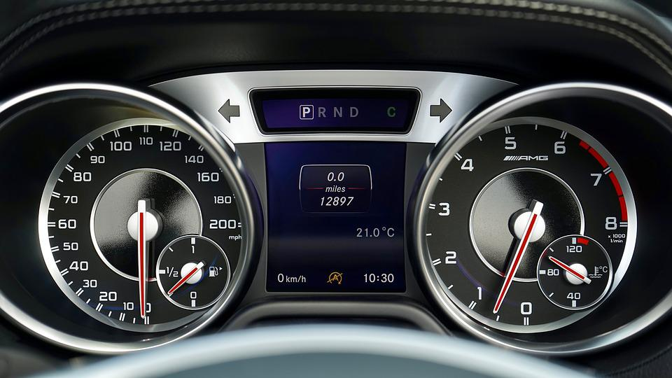 Car, Speedometer, Vehicle, Dashboard, Speed, Panel
