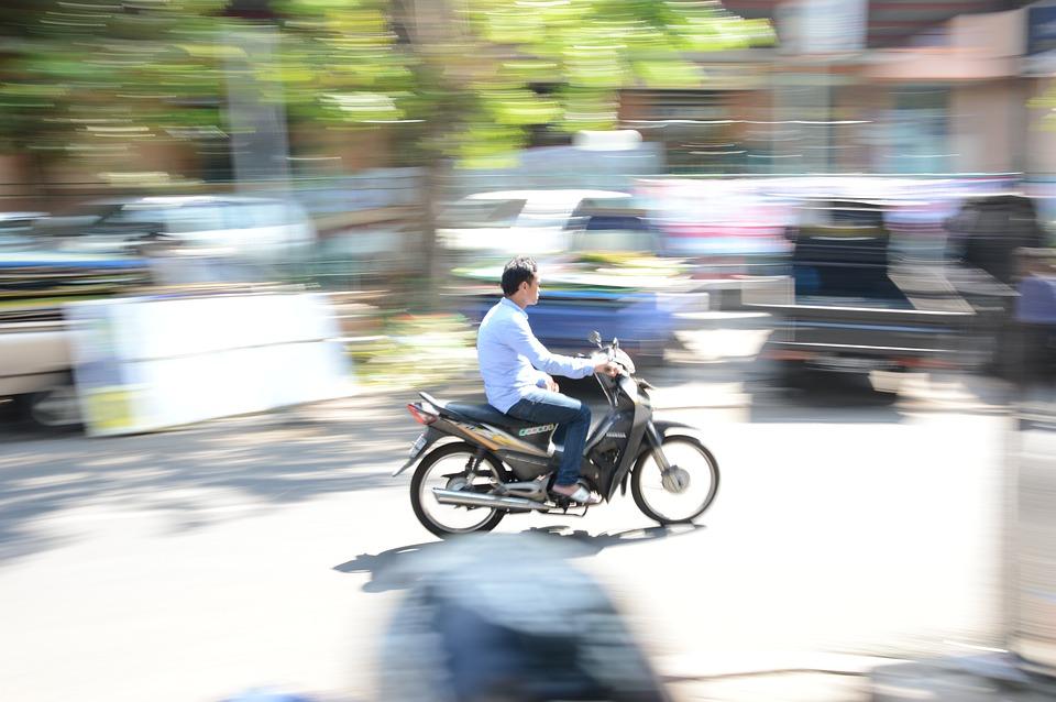 Panning, Motorcycle, Motor, Speed, Motion, Fast