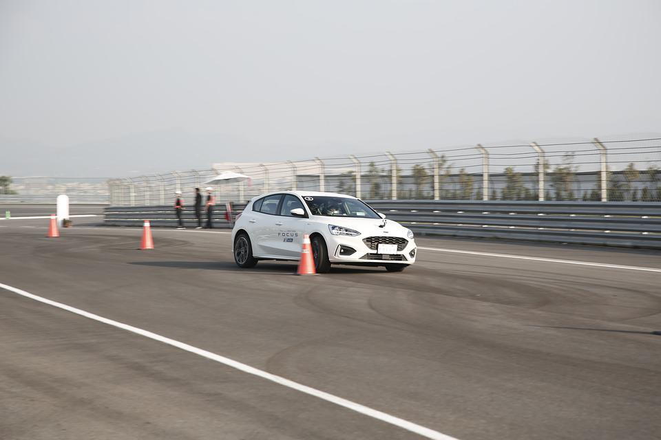 Track, Race, Ford Focus, Racing, Car, Drag, Speed, Fast