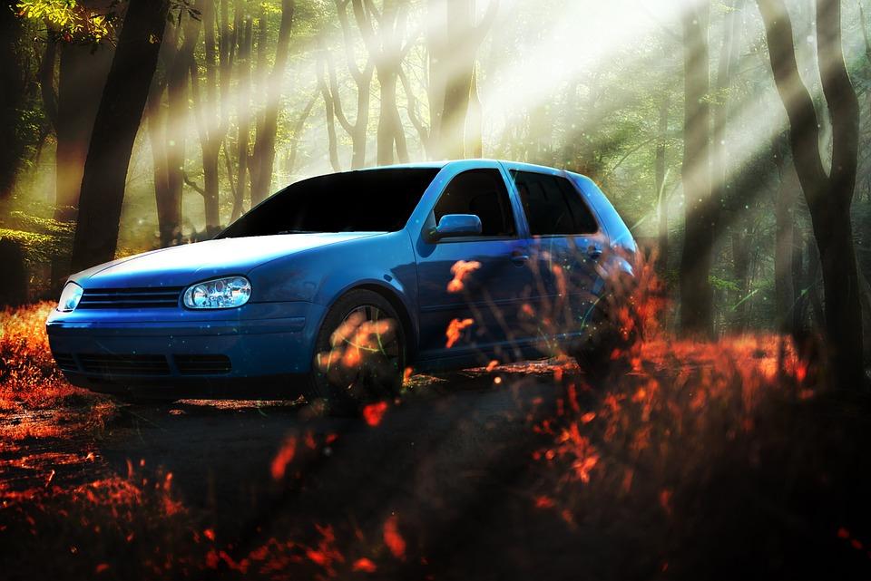 Golf, Car, Vehicle, Volkswagen, Vw, Auto, Speed