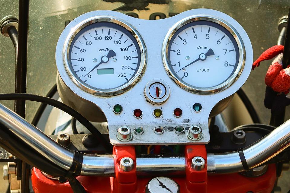 Armature, Motorcycle, Speedo, Speed Sensor, Tachometer