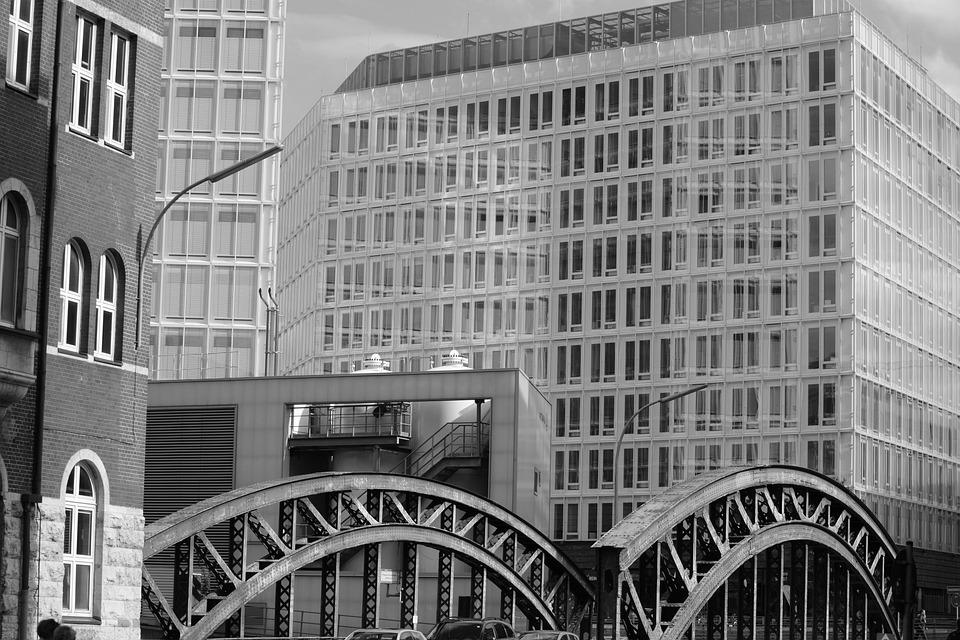 Architecture, Hamburg, Contrast, Speicherstadt