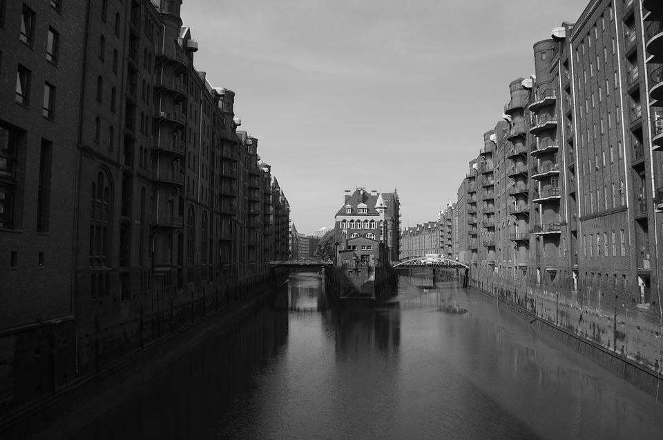 Hamburg, Speicherstadt, City