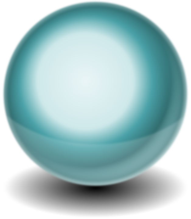 Sphere, Ball, Rendering, Round, Green, Turquoise