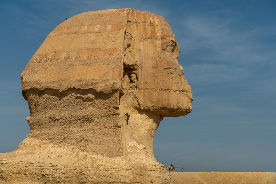 Sphinx, Egypt, Carlo, Giza, Monument, Historical