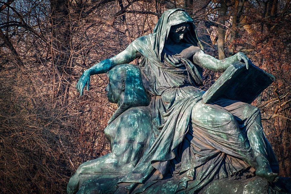 Sculpture, Bronze, Bronze Statue, Figure, Move, Sphinx