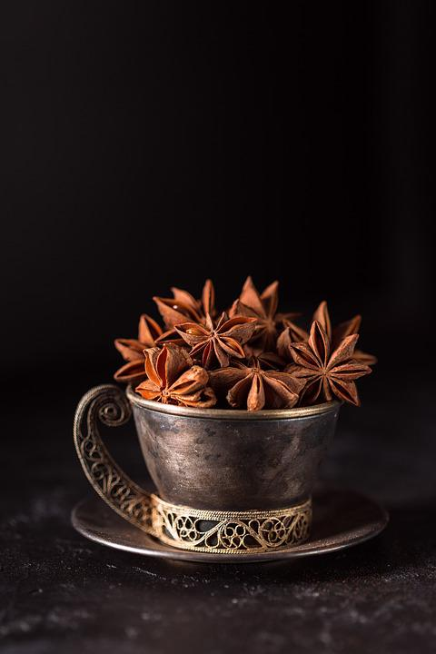 Anise, Star Anise, Spices, Odor, Sprockets, Food, Spice