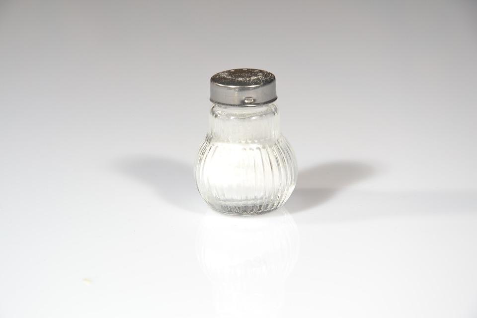 Salt, Salt Shaker, Spice, Sting, Food