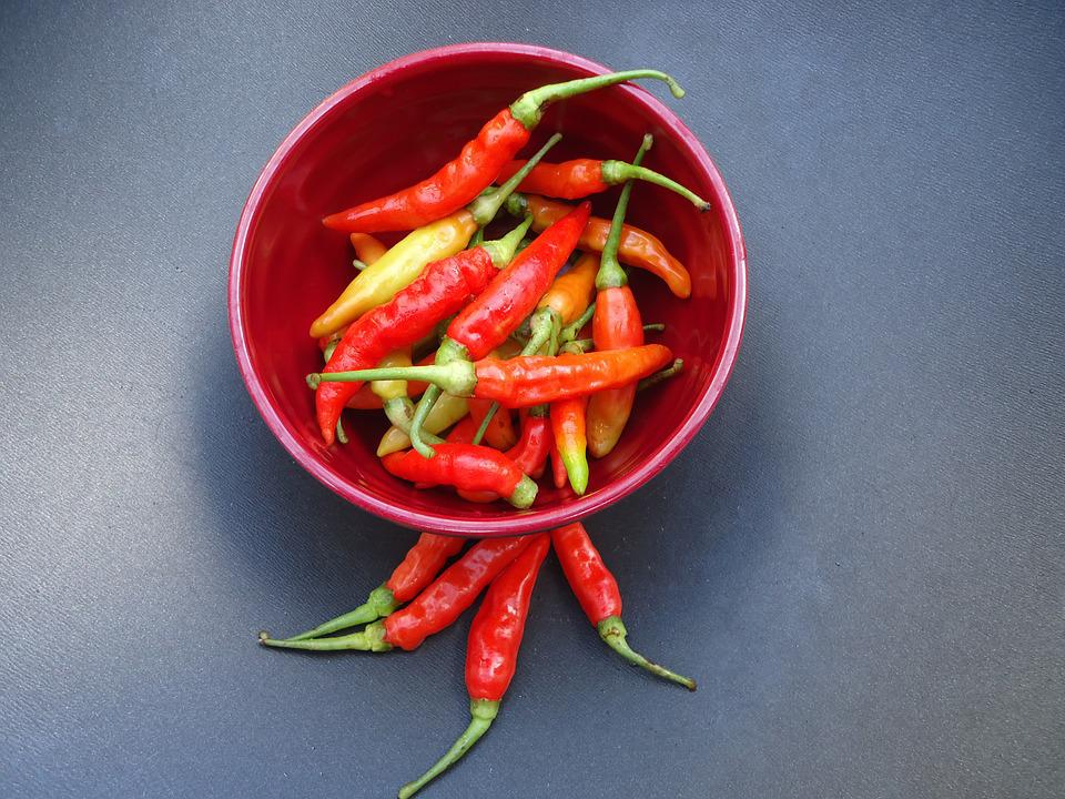 Chili, Red, Spicy, Fresh