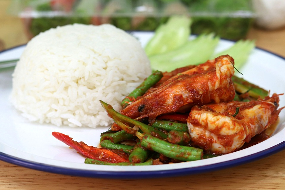Chilli Prawn Curry, Curry, Food, Eat, Spicy, Pepper