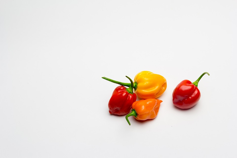 Peppers, Habaneros, Aji, Spicy, Chile, Vegetables