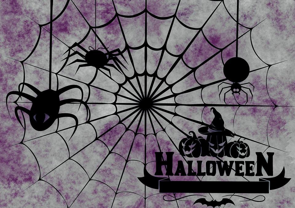 Halloween, Weird, Surreal, Atmosphere, Creepy, Spider