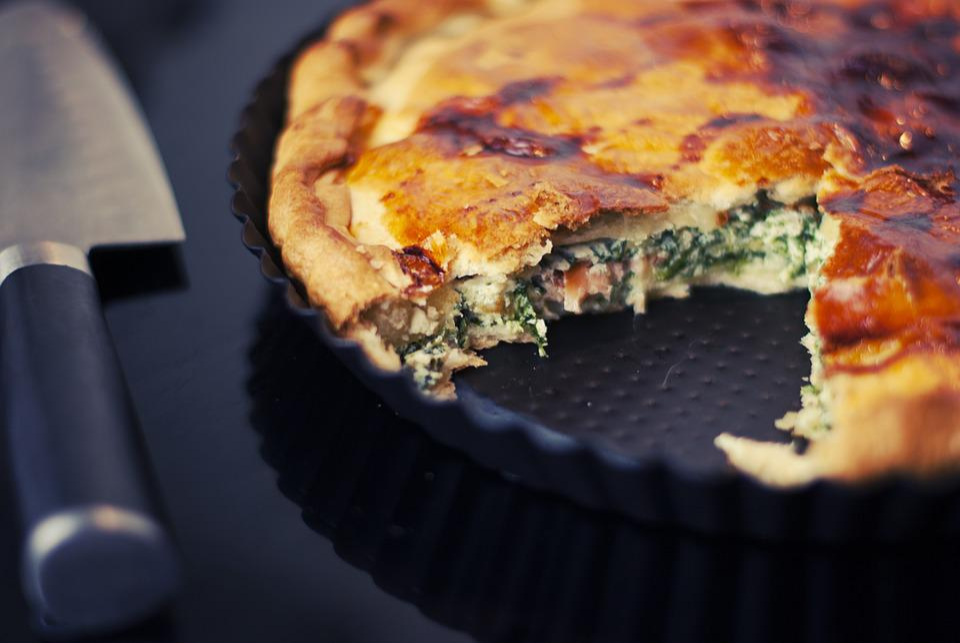 Tart, Spinach, Food, Baking, Lunch, Dinner