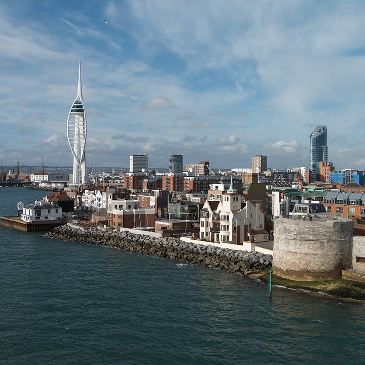 Water, Travel, City, Harbor, Sea, Portsmouth, Spinnaker