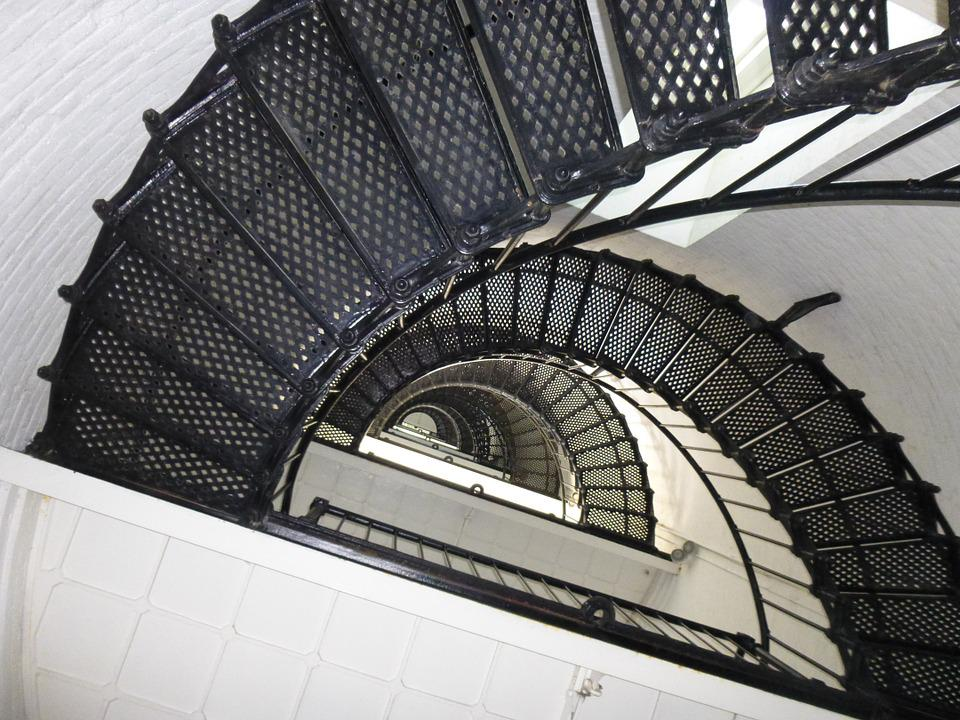 Stairs, Spiral, Moving, Staircase, Stairway, Design