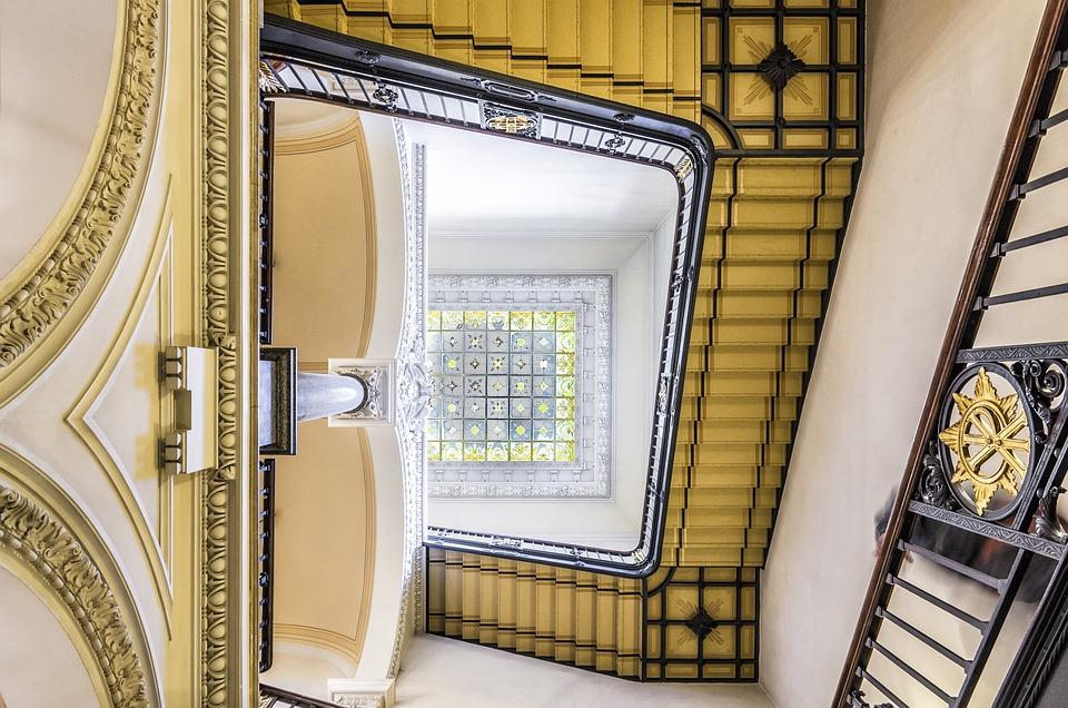 Trap, Spiral, Design, Interior, Old, Stairwell