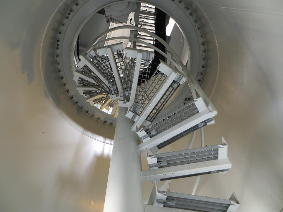 Architecture, Spiral Staircase, Stairs, Gradually