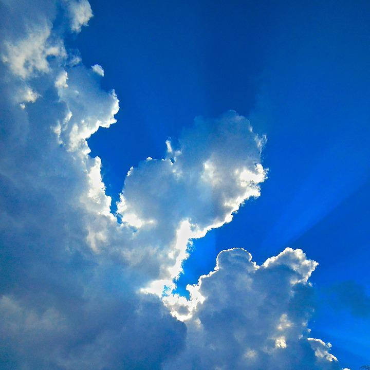 Himmel, Blue Sky, Cloud, Spirituality, Spiritual Power