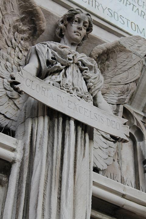 Sculpture, Angel, Art, Religious, Church, Spiritual