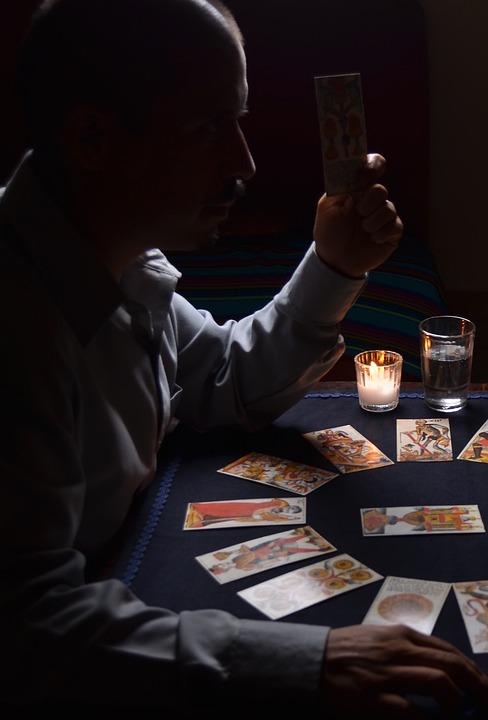 Mystic, Letters, Tarot, Spiritualism