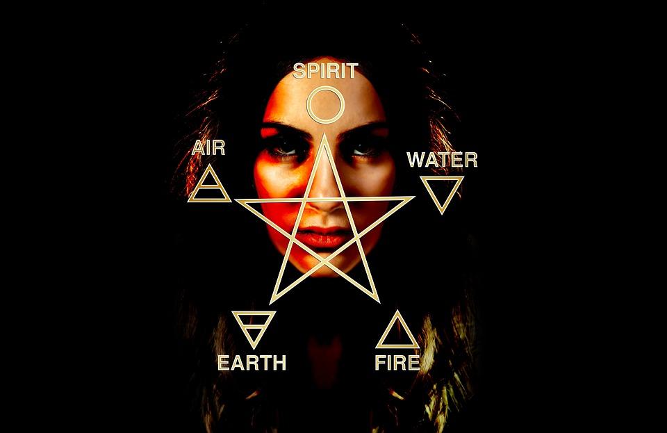 Woman, Face, View, Spirituality, Mysticism, Mystical