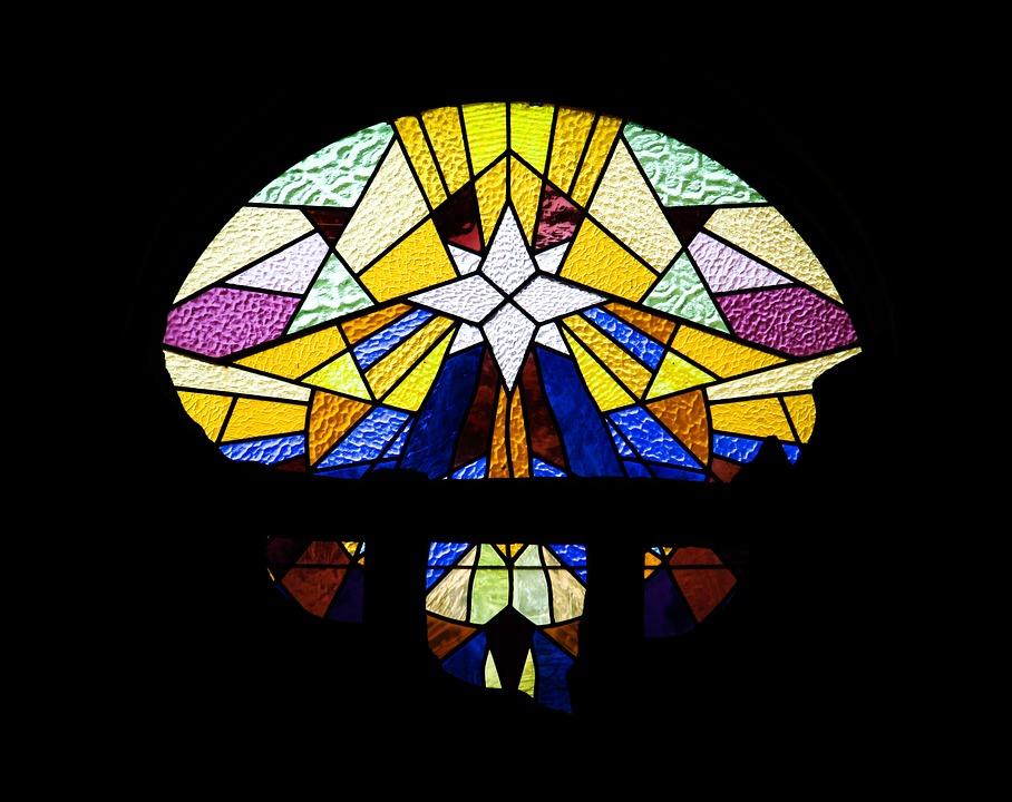 Stained Glass Window, Religion, Glass, Spirituality