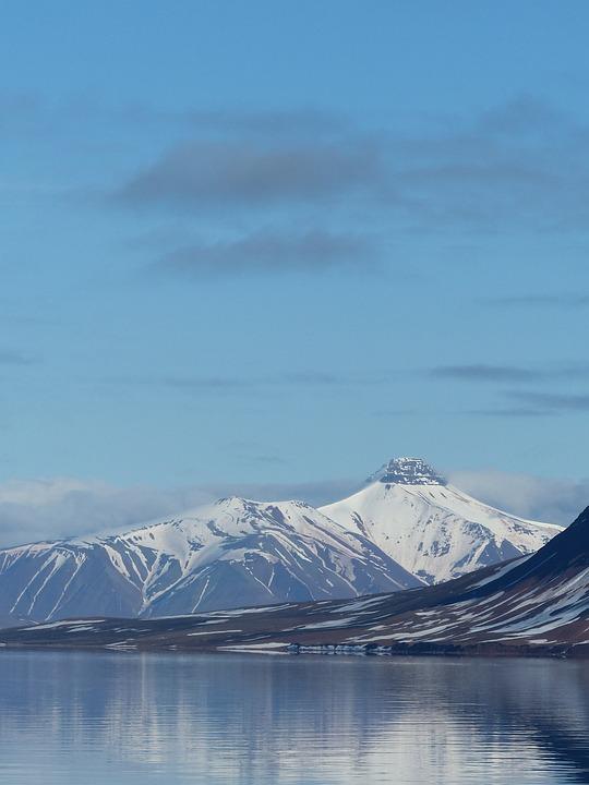Spitsbergen, Mountains, Ice, Landscape, Arctic Ocean