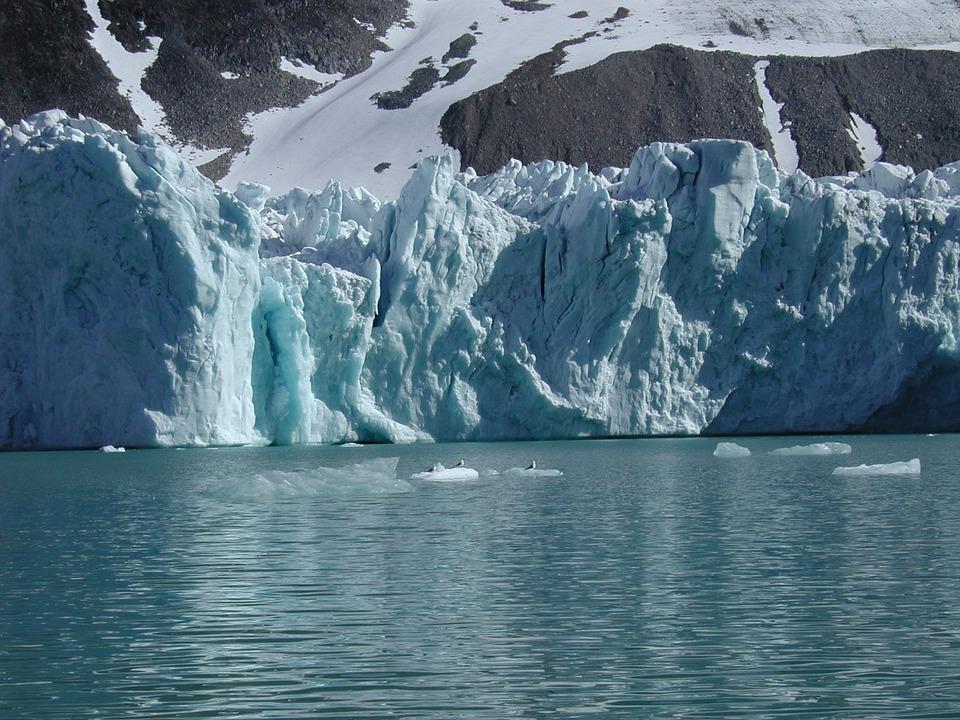 Spitsbergen, Glacier, Ice