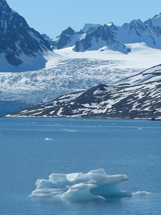 Spitsbergen, Glacier, Polar Region, Icebergs, Cold