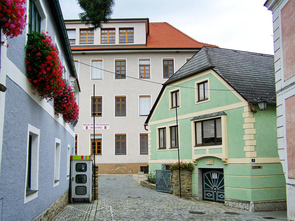 Street Details, Spitz, Austria