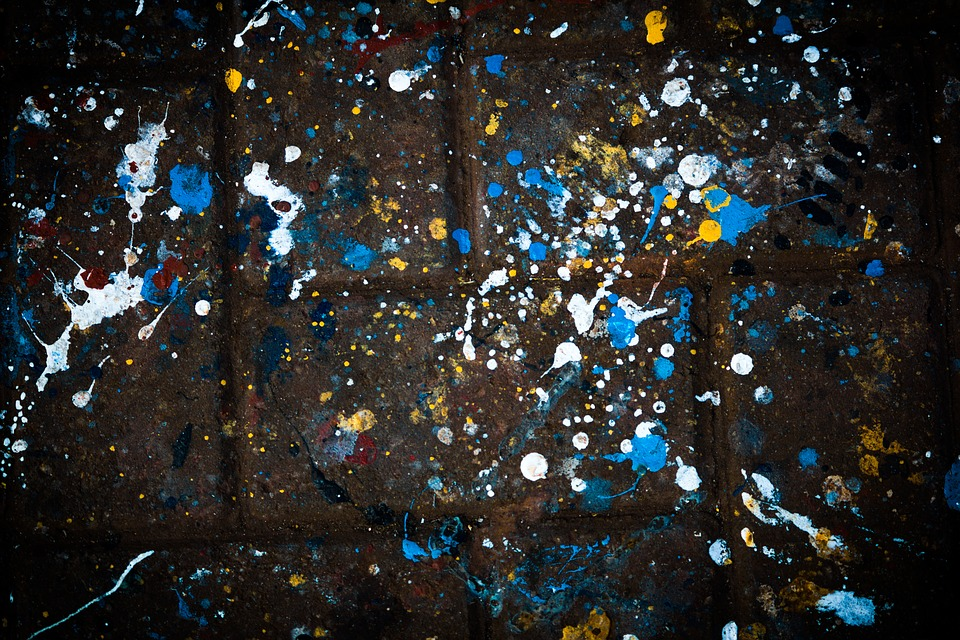 Paint, Abstract, Splash, Grunge, Colorful, Pattern