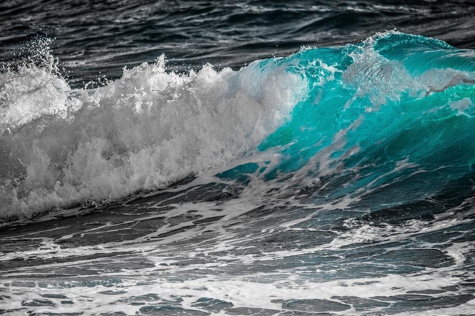 Surf, Wave, Water, Sea, Foam, Spray, Splash, Nature