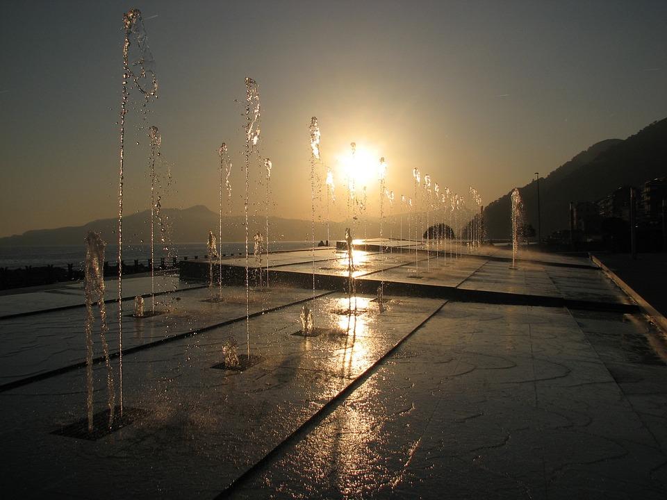 Water, Fountain, Outdoor, Splash, Chiavari, Italy