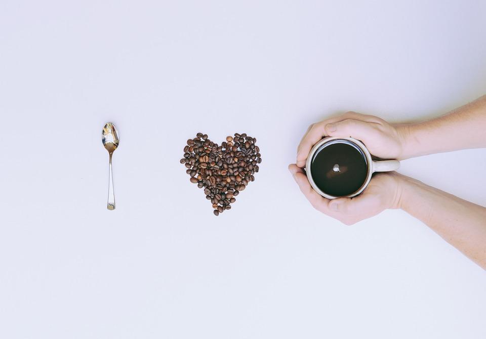 Coffee, Beans, Spoon, Cup, Still Life, Mug, Hands, Warm