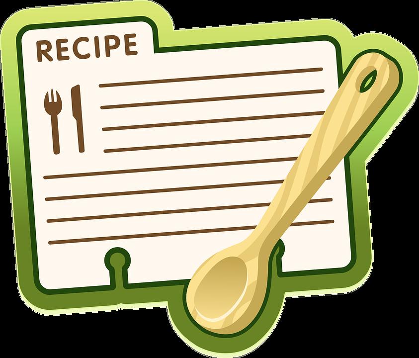 Recipe, Label, Icon, Symbol, Spoon, Recipes, Card, Food